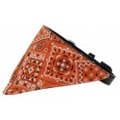 Orange Western Bandana Pet Collar | PrestigeProductsEast.com