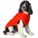 Orange Cable Knit Dog Sweater | PrestigeProductsEast.com