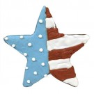 Patriotic Star Dog Treat | PrestigeProductsEast.com