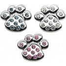 "Paw Sliding Charms - 3/4"" (18mm) 