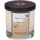 Memorial Pet Candle - Paw Prints in Sand | PrestigeProductsEast.com
