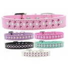 Sprinkles Dog Collar Pearl and Bright Pink Crystals | PrestigeProductsEast.com