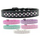 Sprinkles Dog Collar Pearl and Light Pink Crystals | PrestigeProductsEast.com