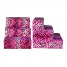 Hot Pink Cheetah Plush Pet Steps | PrestigeProductsEast.com