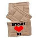 Peter Pads Pet Diapers - Bitches Love Me 3 Pack | PrestigeProductsEast.com