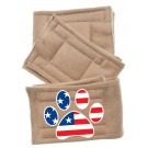 Peter Pads Pet Diapers - Paw Flag 3 Pack | PrestigeProductsEast.com