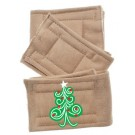 Peter Pads Pet Diapers - Swirly Christmas Tree 3 Pack | PrestigeProductsEast.com
