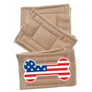 Peter Pads Pet Diapers - USA Bone Flag 3 Pack | PrestigeProductsEast.com
