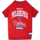Philadelphia Phillies Baseball Pet Shirt | PrestigeProductsEast.com