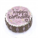 Pink Birthday Cake for dogs | PrestigeProductsEast.com