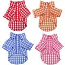 Plaid Button Down Pet Shirt | PrestigeProductsEast.com