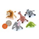 Safari Plush Dog Toy Collection | PrestigeProductsEast.com