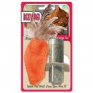 Kong® Refillable Catnip Toy - Feather Top Carrot | PrestigeProductsEast.com
