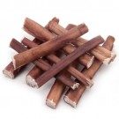 "Premium Plain Bully Sticks 6"" Odor Free 