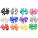 Quatrefoil Hair Bows | PrestigeProductsEast.com