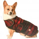 Red / Black Plaid Blanket Coat | PrestigeProductsEast.com