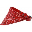 Red Western Bandana Pet Collar | PrestigeProductsEast.com