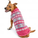 Rose Alpaca Fairisle Dog Sweater | PrestigeProductsEast.com