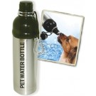 Pet Water Bottle - Stainless Steel (24 oz )
