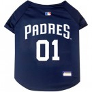 San Diego Padres Baseball MLB Pet Jersey | PrestigeProductsEast.com