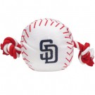San Diego Padres Nylon Baseball Rope Pet Toy  | PrestigeProductsEast.com