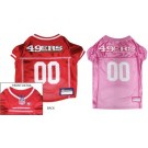 San Francisco 49ers Pet Jersey | PrestigeProductsEast.com