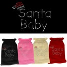 Santa Baby Rhinestone Knit Pet Sweater | PrestigeProductsEast.com