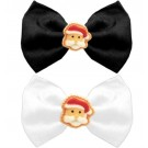 Santa Face Chipper Pet Bow Tie | PrestigeProductsEast.com