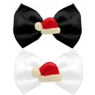 Santa Hat Chipper Pet Bow Tie | PrestigeProductsEast.com