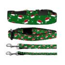 Santa Hats Nylon Ribbon Collars | PrestigeProductsEast.com