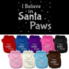 Santa Paws Screen Print Pet Hoodies | PrestigeProductsEast.com