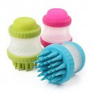 ScrubBuster Silicone Dog Washing Brush with Built-in Shampoo Reservoir | PrestigeProductsEast.com