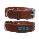 Sierra Leather Dog Collar | PrestigeProductsEast.com