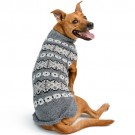 Silver Alpaca Fairisle Dog Sweater | PrestigeProductsEast.com