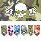 Skull Wings Screen Print Bandana | PrestigeProductsEast.com