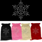 Snowflake Rhinestone Knit Pet Sweater | PrestigeProductsEast.com