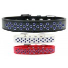 Sprinkles Dog Collar Blue Crystals | PrestigeProductsEast.com