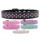Sprinkles Dog Collar Bright Pink Crystals | PrestigeProductsEast.com