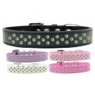 Sprinkles Dog Collar Lime Green Crystals | PrestigeProductsEast.com