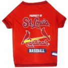 St. Louis Cardinals Baseball Pet Shirt | PrestigeProductsEast.com