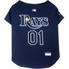 Tampa Bay Rays Baseball MLB Pet Jersey | PrestigeProductsEast.com