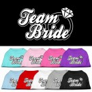 Team Bride Screen Print Pet Shirt | PrestigeProductsEast.com