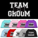 Team Groom Screen Print Pet Shirt | PrestigeProductsEast.com