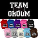 Team Groom Screen Print Pet Hoodie   PrestigeProductsEast.com