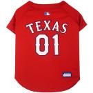 Texas Rangers Baseball MLB Pet Jersey | PrestigeProductsEast.com