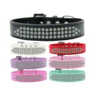 Three Row AB Crystal Dog Collar | PrestigeProductsEast.com