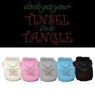 Tinsel in a Tangle Rhinestone Hoodies | PrestigeProductsEast.com