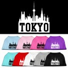 Tokyo Skyline Screen Print Pet Shirt | PrestigeProductsEast.com