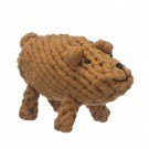 Brooks the Boar Rope Dog Toy | PrestigeProductsEast.com