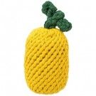 Pineapple Rope Dog Toy 9"